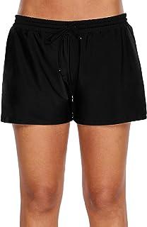 WILLBOND Women Swimsuit Shorts Tankini Swim Briefs Bottom Boardshort Summer Beach Swimwear Trunks