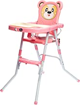 Baby High Chair - Pink, 1-3 Years, LB-113