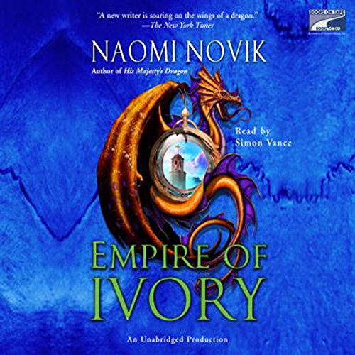 Empire of Ivory audiobook cover art