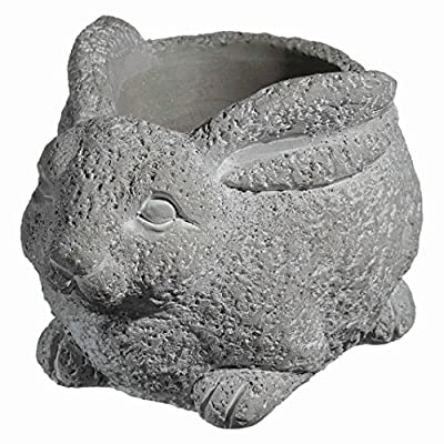 Classic Home and Garden 9/3441/1 Rabbit Planter, Small, Natural