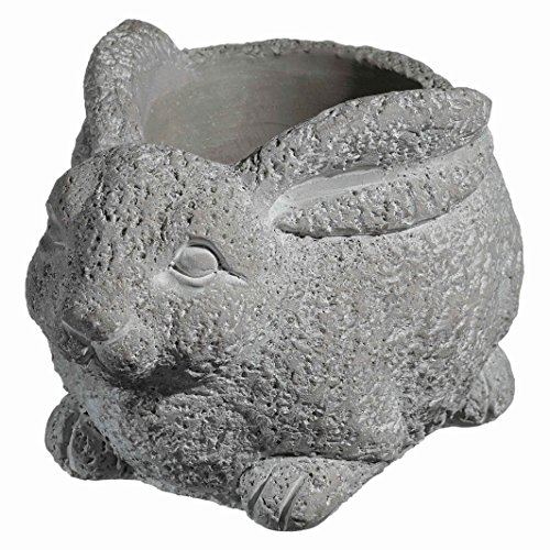 Classic Home and Garden 9/3442/1 Rabbit Planter, Large, Natural
