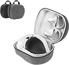 LOVEDAY Hard Travel Case for Oculus Quest 2 VR Gaming Headset Controllers Accessories Waterproof Carring Case (Gray)