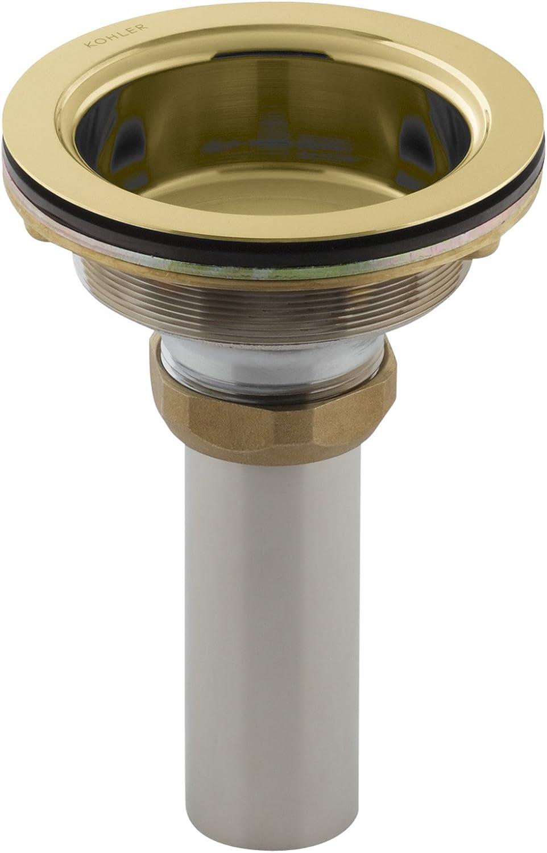 Kohler K-8804-PB Duostrainer Body Vibrant Brass Animer and price revision Polished Oklahoma City Mall