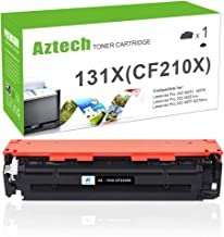 Aztech Compatible Toner Cartridge Replacement for HP 131X CF210X 131A CF210A (Black, 1-Pack)