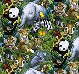 Best jungle print fabric Reviews
