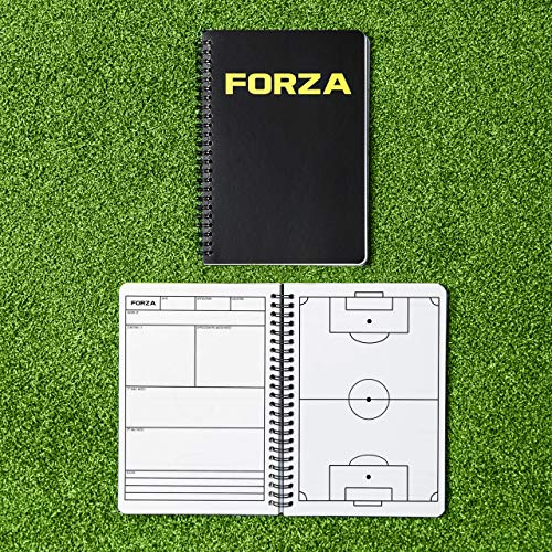 FORZA Soccer Coaching Training Notebook  A4A5 Sizes  100 Page Tactical Planner A4