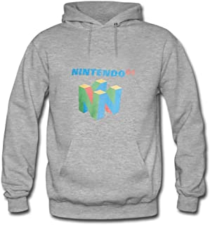 Women Mens N64 Logo attractive hoodies