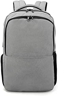 WAIXKAY 16 inch Laptop Backpack with USB Charging Port, Travel Picnic Backpack Independent Compartment for Lunch Box or Shoes Large Capacity Sporty Busniess Bag (Color : Silver)