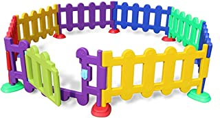 Relaxbx Baby Fence Game Baby Crawling Toddler Fence Playground Anti-Pushing Park Indoor Home Safety Toy House