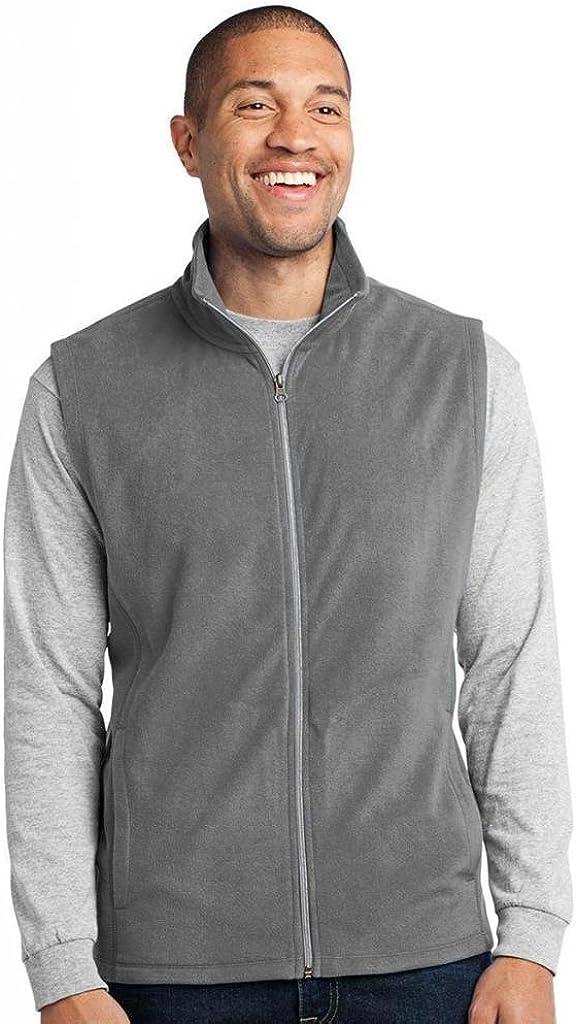 Port Authority Microfleece Vest, XS, Pearl Grey