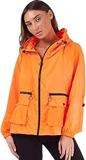 Momo&Ayat Fashions Ladies Hooded Rain Parka Festival Jacket AUS Size 8-14