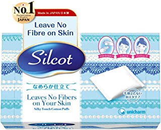 Silicot Cotton Puff, 82ct
