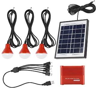 Paneles solares, Paneles solares de 4W Batería portátil Recargable USB 3.7V Energía Solar