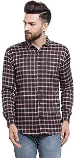 MAFATLAL Men Checkered Long Sleeve Casual Shirt