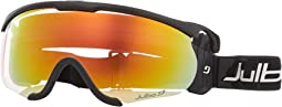 Black/Black with Zebra Light Photochromic Lens