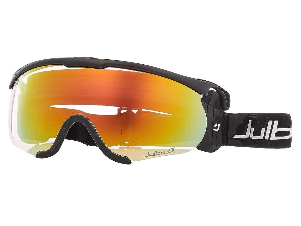 Julbo Eyewear Sniper M (Black/Black with Zebra Light Photochromic Lens) Goggles