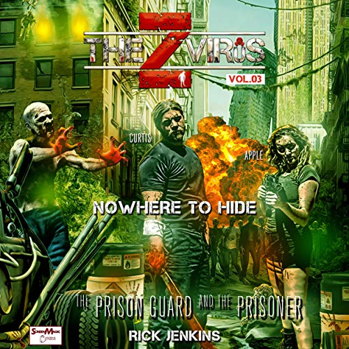 The Z Virus, Vol. 03: Nowhere to Hide audiobook cover art