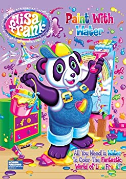 Lisa Frank Paint with Water Activity Book