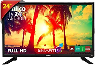 "TV LED 24"", Philco Smart PTV24N91SA, Preto"