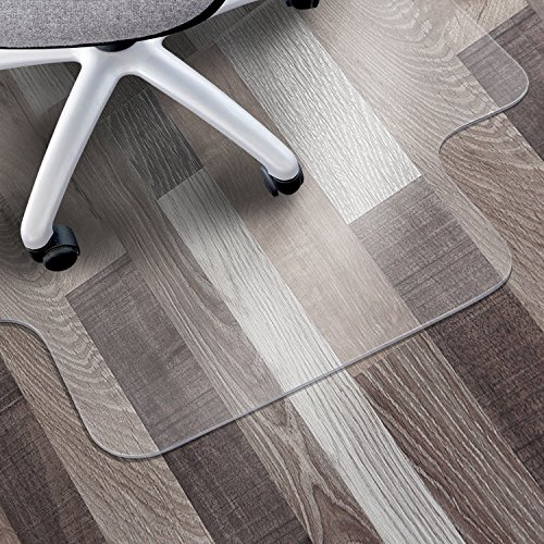 Matladin Heavy Duty PVC Chair Mat for Hardwood Surface Floor Office,Easy to...