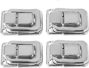 Praktisch 4 stuks Sluiting Toggle Lock vastklikt for Suitcase Case Dozen Kisten Trunk Deur Gereedschap