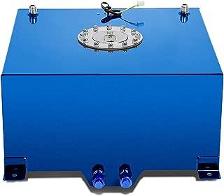 DNA MOTORING Blue ALU-FT-T4-ALU-BL Aluminum 10-Gallon Fuel Cell Gas Tank