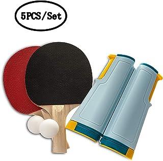 new style c8d07 ca7d5 KAIMENG Jeu de Tennis de Table Set de ping-Pong Portable, Longueur  Ajustable Convient