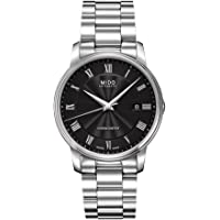 MIDO Baroncelli III Chronometer Automatic Black Dial Mens Watch
