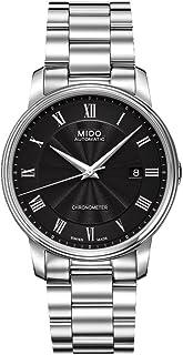 MIDO - Baroncelli M0104081105300 - Reloj para Hombres, Correa de Acero Inoxidable Color Plateado