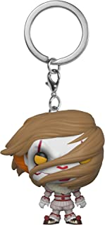 Funko Pop Keychain: Horror It - Pennywise with  Wig Collectible Figure, Multicolor