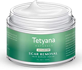 Scar Removal Cream Advanced Treatment for Old & New Scars from Cuts Stretch Marks, C-Sections & Surgeries With Natural Herbal Extracts Formula