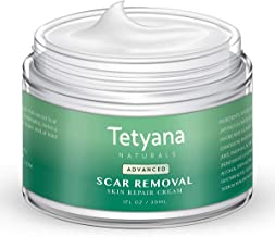 Scar Removal Cream Advanced Treatment for Old & New Scars from Cuts Stretch Marks, C-Sections & Surgeries With Natural Her...