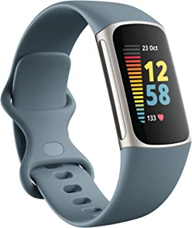 Fitbit Charge 5, Steel Blue/Platinum