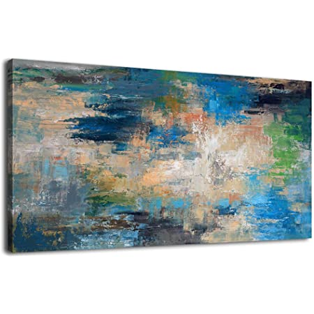 Modern Abstract Watercolor Canvas Poster Contemporary Art Print Home Decoration