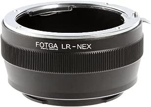 Lens Mount Adapter for Leica R Lens to Sony E-Mount Camera Adapter NEX-7 NEX-6 NEX-C3 NEX-5N NEX-VG10 a7S a7R a7II a7SII A7III A7RIII A7SIII A9 a6500 a6300 a6000 a5100 a5000 NEX-FS700 VG30 VG900