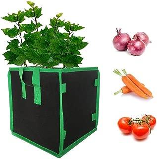 poetryer Bolsas De Cultivo De Papa Macetas De Tela Fresa Macetas De Viveros para Papa Zanahoria Tomate Y Cebolla