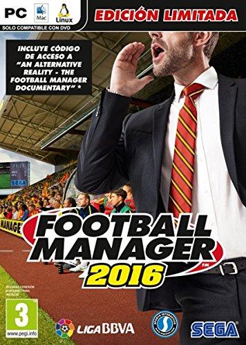 Football Manager 2016 Limited Edition: Amazon.es: Videojuegos