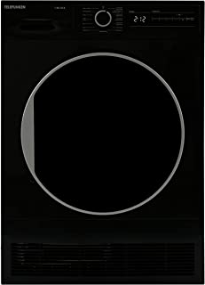 Telefunken T-K8-10-B Kondenstrockner / 8kg / B/Knitterschutz/Reversierende Trommelbewegungen / 15 Programme