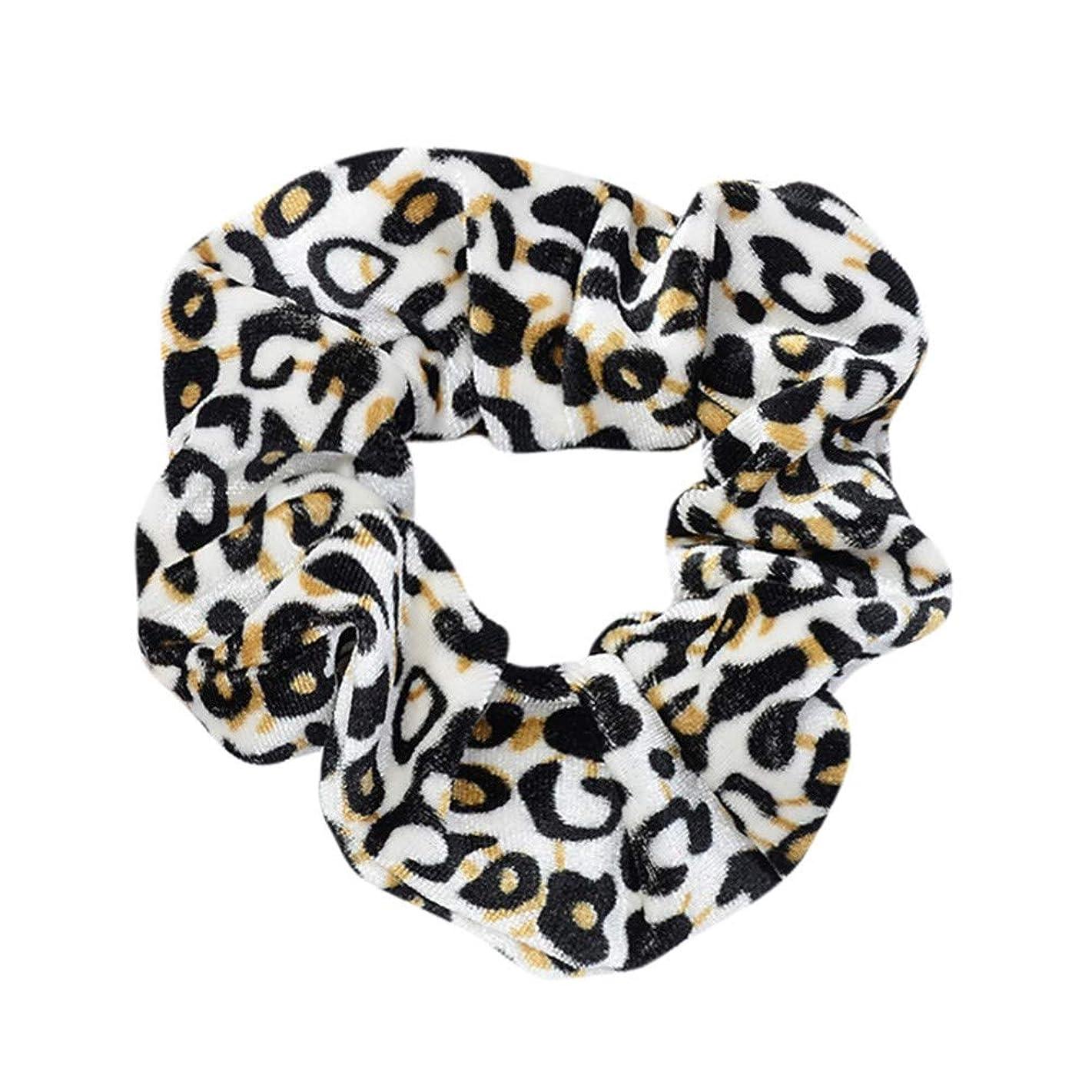 AOJIAN Accessories Women Headband Elastic Leopard Ponytail Scrunchie 5 in 1 Headwrap Hair Band