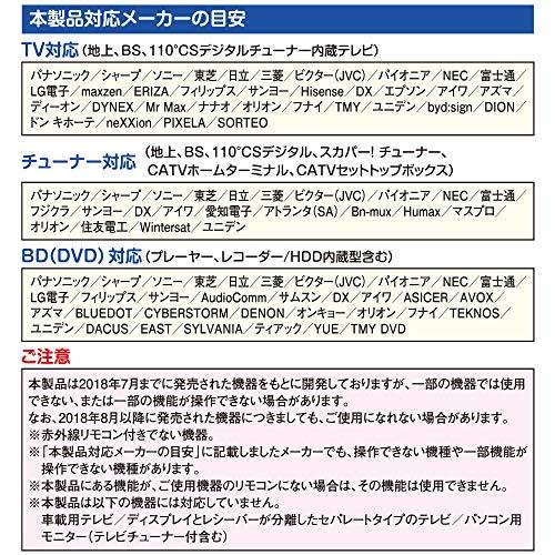 オーム電機AV学習リモコンR850Z