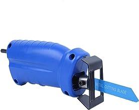Taladro eléctrico Accesorio de herramienta modificado Taladro eléctrico Adaptador de hoja de sierra Herramientas manuales Hoja de corte de metal Adaptador de sierra recíproca portátil para