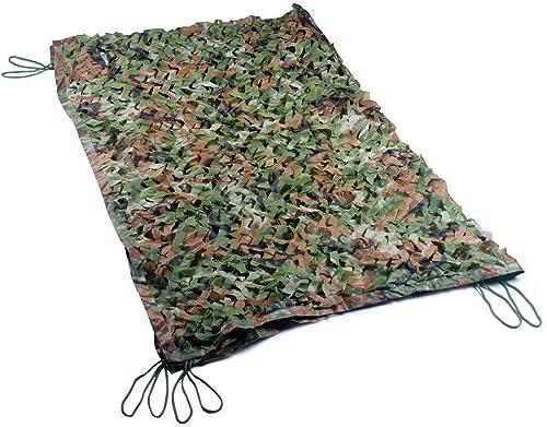 ATR Filet de Camouflage, Dense et Solide, Ajoutez Un Filet de Renfort approprié pour la décoration extérieure des abris de Camping et des Jardins Camo Camping Multiple, Couleur Camouflage Jungle