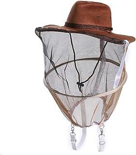 Imker Hut Imkerei Werkzeuge mit Schleier Haube Anti Bee Ausrüstung Kopf Gesichtsschutz für Männer Frauen Outdoor Angeln Camping
