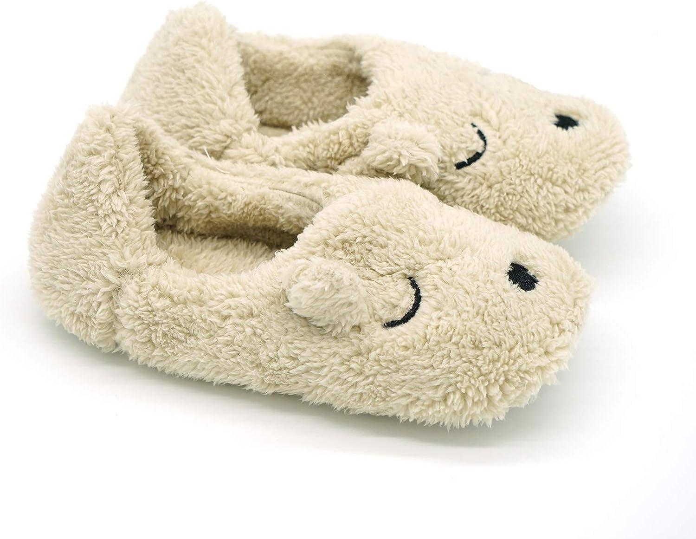 Navoku Women's House Anti-Slip Cotton Indoor Animal Slippers
