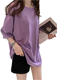 [SeBeliev(シービリーヴ)] ゆったり Tシャツ 無地 インナー カジュアル シャツ シンプル 良質素材 速乾 部屋着
