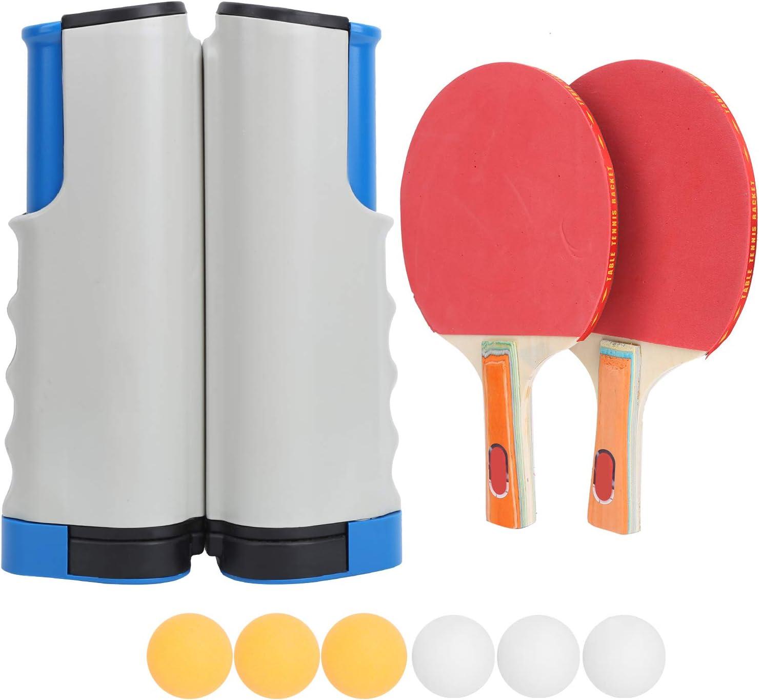 Surebuy Herramienta de Entrenamiento de Tenis de Mesa, Juego de Tenis de Mesa El Entrenamiento de reacción no se desliza Material ABS fácil de Instalar para Juegos recreativos
