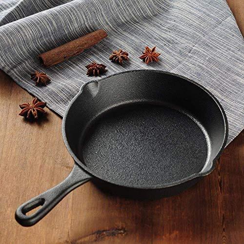 16CM / 20CM Antihaft-Gusseisenpfanne Bratpfanne Omeletts Pfannkuchen-Crêpe-Grill Grill-Kochtopf für Gasherd-Induktion, 20CM