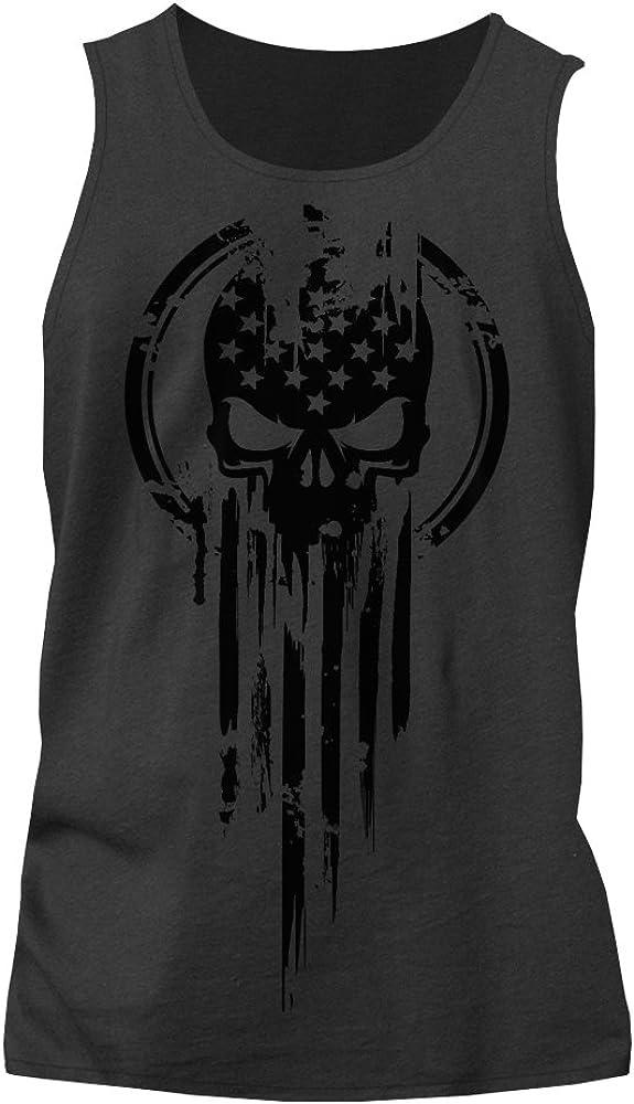 online shop American Soldering Warrior Flag Military Skull T-Shirt