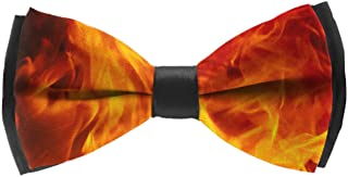 INWANZI Mens Fashion Pre-Tied Bow Tie Adjustable Camel Bowtie for Wedding Holiday Party
