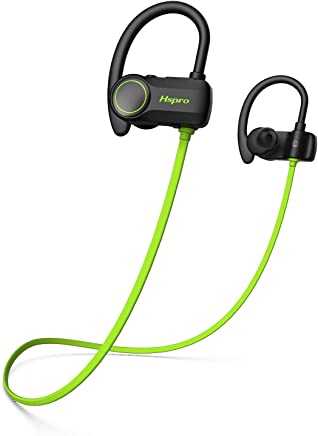 Bluetooth Headphones, HSPRO IPX7 Waterproof Wireless...